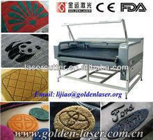 Laser Double Heads Cutting Carpet Floor Mat/CO2 Laser Equipment