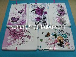 New Colorful Eiffel Tower design Flower design Soft TPU Case Cover For Ipad mini