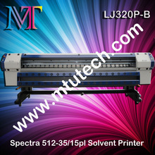 Banner Plotter With Spectra Polaris 512-35pl/15pl Printhead For Outdoor Advertising (Solvent Ink)