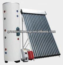 China domestic pressurized vacuum tube solar collector