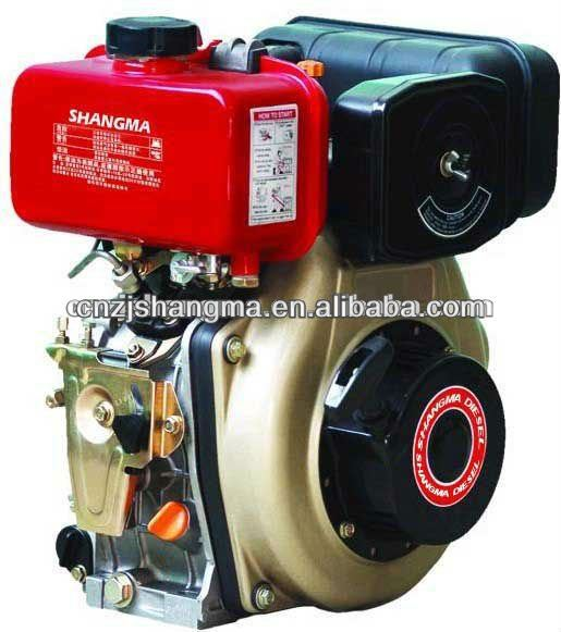 Diesel motores de pequeno porte 12hp baratos, 10hp, 9hp e 6hp diesel refrigerado a ar leme poder pequeno manual motor sm188f 12hp