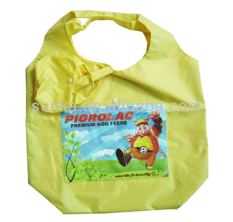 Waterproof Folding Shopping Bag (SJ-F-051)