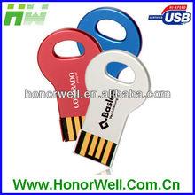 OEM Business key shape usb disk for Gift Free Logo