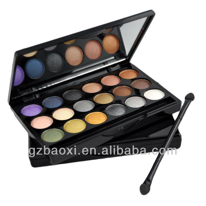 ... u0026gt; Eyeshadow u0026gt; Makeup metal shimmer 18 color eye shadow palette