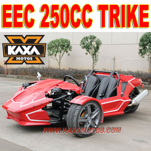 EEC 250cc Three Wheel Motorcycle Scooter