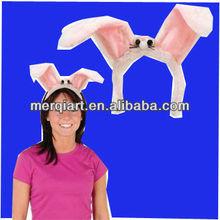 Bunny Ears Headband Plush Party Accessory