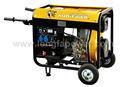 generador diesel con baja presión de aceite de alarma