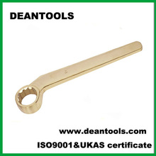 non sparking bent handle box wrench,antispark box spanner,coppe alloy