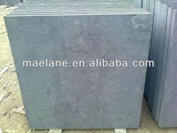 Blue limestone tiles Sandblasted