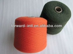 wool and polyester yarn fabric