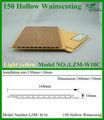 madeira composto plástico de madeira plástica painel de fachada