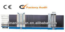 automatic double glass machine line, auto aluminum trough insulating glass flat-pressing production line