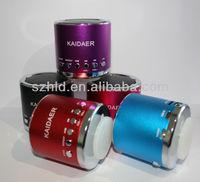 Kaidaer mini speaker,portable speaker support Micro SD/TF Card