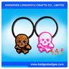 Fancy skull retractable phone strap