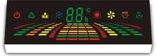 custom design led air-conditioner display