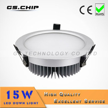 AC110V/220V Low Profile LED Downlight 15w