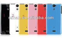 New Soft Crystal Soild TPU Case Cover For Sony Ericsson Xperia V LT25i