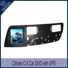 CitroeN C5 Car dvd player navigation gps IPOD bluetooth suppliers & manufacturers & wholesalers