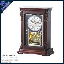 table clock, antique brass table clock, wooden clocks