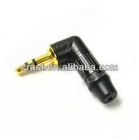Neutrik L-g top-3.5MM headphone plug NTP3RC-B