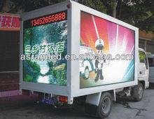 Sinoela P20mm full color outdoor mobile led truck display, truck mounted led display,truck led display billboards