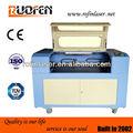 Mejor rfe6090-100c cnc máquina de grabado láser para los pantalones vaqueros