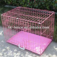 Majestic Pet Single Door Folding Coated Steel Wire Dog Crate