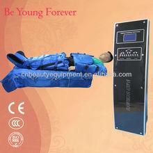 Electro stimulation slimming machine lymph air massager