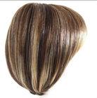 Kanekalon Synthetic Mono Crown Wig, 14/26# Short Cut Straight ,Like Human Hair