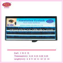 Korea newest wholesale false eyelashe SC-004made in korea products Factory price