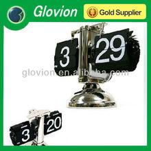 retro flip alarm clock flip stand clock retro table clock