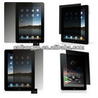 Privacy LCD Screen Protector Anti-spy Guard Shield Film for Apple IPAD 2 /3 & NEW IPAD 4