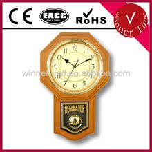 Plastic Pendulum Wall Clock WR-06655