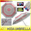 "21""x8k manual open folding rose umbrella for valentine day"
