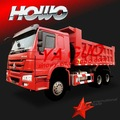 6x4 sinotruck volquete de howo mejor que ssangyong camiones