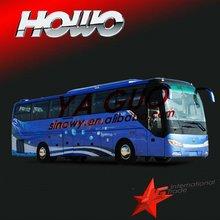 Howo 2012 JK6127HK tourist bus used toyota bus