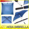 "29""x4k square golf umbrella with aluminium shaft and pongee fabric"