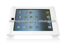 white heavy silicone anti shock cover for ipad 2 iphone apple