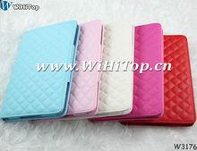 For iPad Mini Leather Case .Wallet Case For Mini iPad