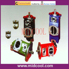 v series low noise vertical double suction split case suction cylinder foot pump
