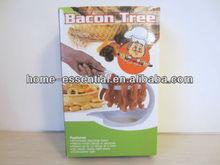 Plastic microwave bacon