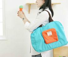 Durable nylon foldable zipper tote bag(NV-F177)