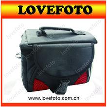 Black Camera Gadget Bag Video Bag For DSLR SLR Canon Nikon