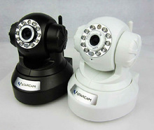 High quality H.264 CMOS 300k pixel, 32G TF card replay, two way audio, Lens 3.6mm IP camera