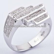 2013 Fashion wedding engagement ring jewelry,diamond rings,silver jewelry JYH-327