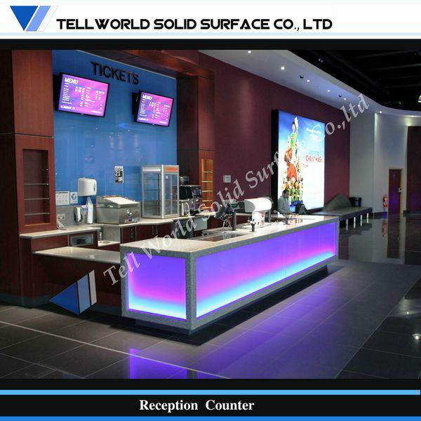 Luminated Conception Commerciale LED Lumire Comptoir De