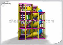 Cheer Amusement children fun city with Rotary playground slide
