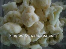 frozen organic cauliflowers florets