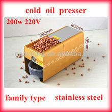 2012 hot sale cold pressing oil press machine for beans,sesame,etc