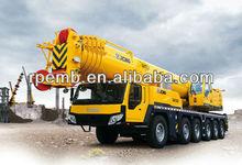 Truck Crane 200 tons XCMG brand truck QAY200/unic truck mounted crane